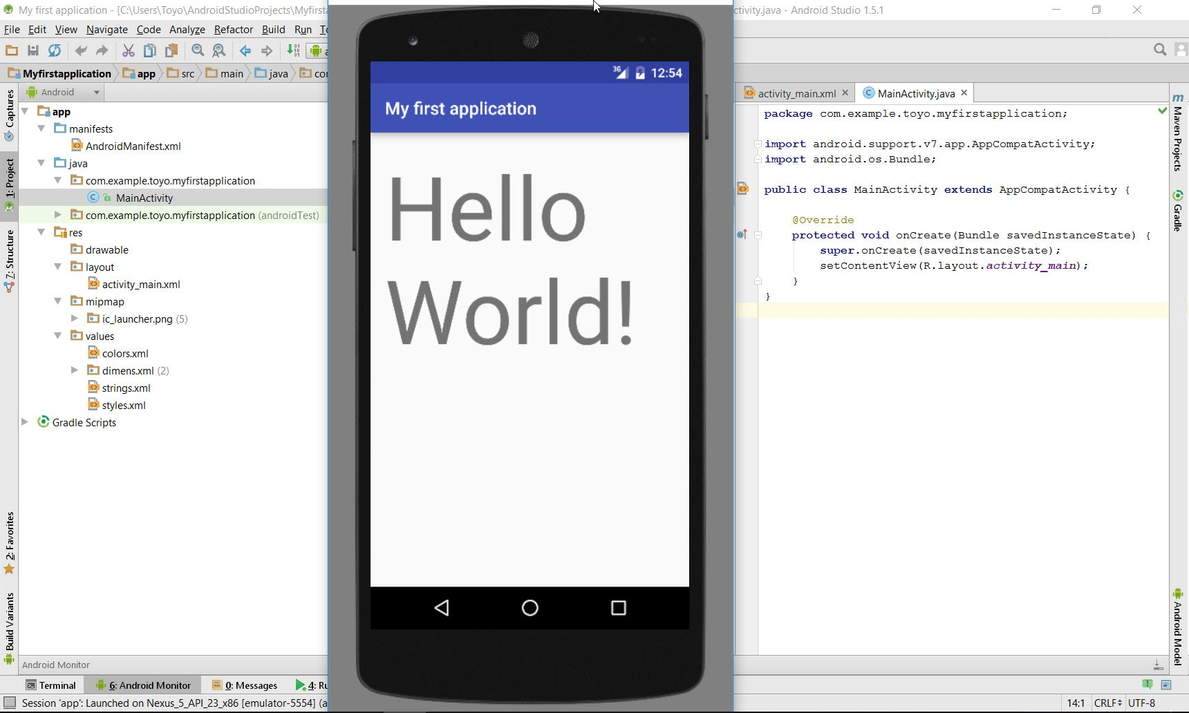 How To Create Apps In Android Studio - NYC